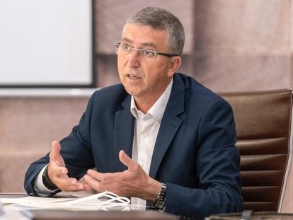 El consejero de Economía de la Generalitat Valenciana, Rafael Climent.