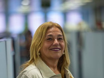 Lourdes Orueta, inspectora de educación del Gobierno vasco, en Bilbao este 3 de septiembre.