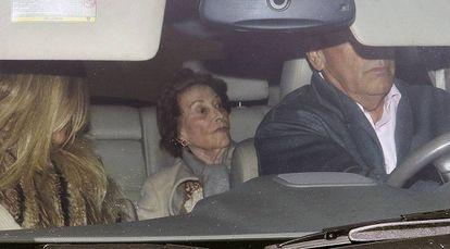 Carmen Franco el pasado 23 de noviembre, en la última foto que hay de ella.