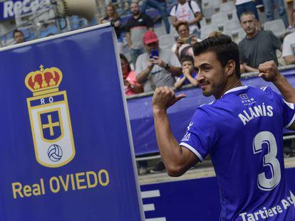 El mexicano Oswaldo Alanís, en su presentación.