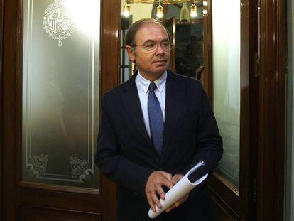 El presidente del Senado, Pío García Escudero, en una foto de archivo.