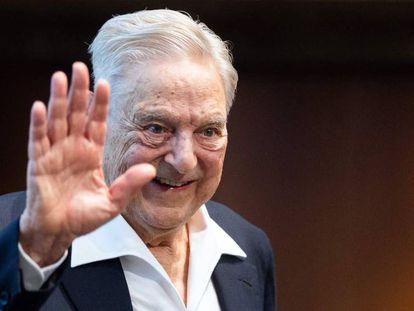 El inversor y filántropo George Soros, el 21 de junio en Viena tras recibir el premio Schumpeter.
