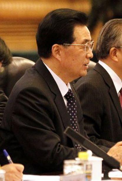 El presidente chino Hu Jintao.