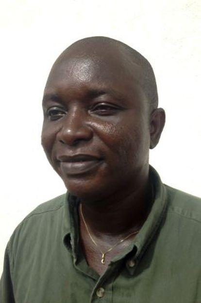 Umar Khan, médico fallecido de Ébola, en junio de este año.