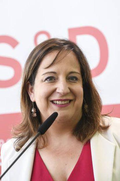 Iratxe García, eurodiputada socialista y presidenta del grupo de Socialistas y Demócratas en el Parlamento Europeo.