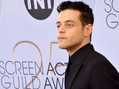 Rami Malek en los SAG Awards, en Los Ángeles, el pasado 27 de enero.