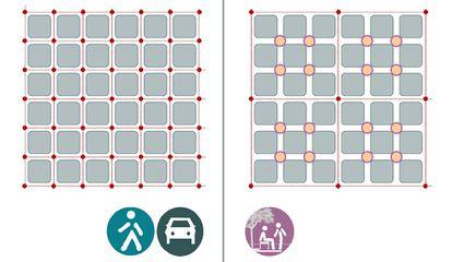 Imagen del proyecto de 'Superilles', del Ayuntamiento de Barcelona.