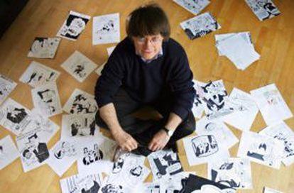 Jean Cabut, 'Cabu', en una foto de 2006.