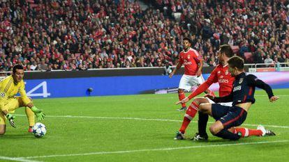 Vietto marca el segundo del Atlético.