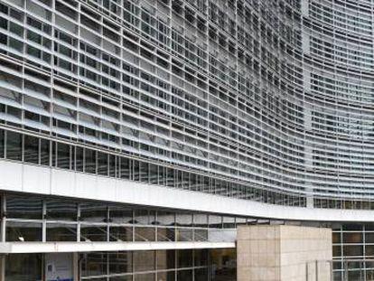 Edificio Berlaymont de la Comisión Europea.