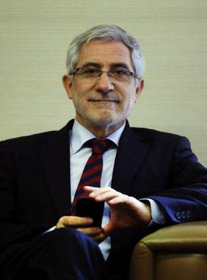 El excoordinador de IU, Gaspar Llamazares.
