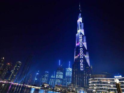 Celebración de la cuenta atrás para Expo 2020 de Dubái, el pasado mes de octubre. En vídeo, spot promocional de la Expo.
