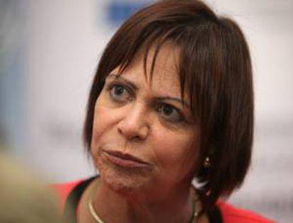 La directora regional de la Organización Internacional del Trabajo (OIT), Elizabeth Tinoco. EFE/Archivo