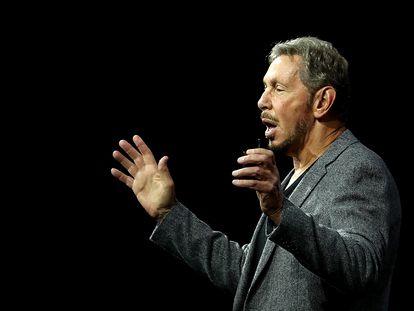 El presidente y fundador de Oracle, Larry Ellison, el 22 de octubre de 2018 en San Francisco, California.