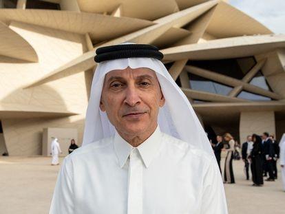 Akbar al Baker, consejero delegado de Qatar Airways, en Doha en 2019.