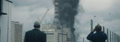 Imágenes de la seríe de televisión Chernobyl, de HBO,
