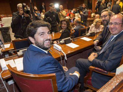 Fernando López Miras en sustitución de Pedro Antonio Sánchez.