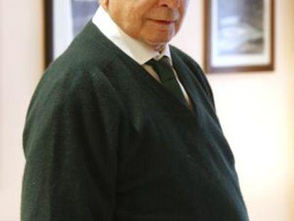 El dramaturgo Antonio Larreta, en una imagen de 2008.