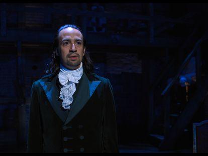 Lin-Manuel Miranda, en una función de 'Hamilton' en julio de 2016