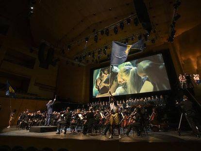 Novena Sinfonía de Beethoven con la OBC y Agrupación Señor Serrano en el Auditori.
