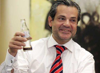 A los 23 años, Marcos de Quinto entró a trabajar en Coca-Cola. Hoy, a los 49, preside la empresa para España y Portugal.