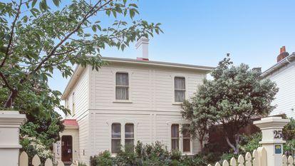 La casa de Katherine Mansfield en Wellington, Nueva Zelanda.