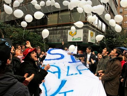 La policía no pide el carné en los 'escraches antiabortistas'