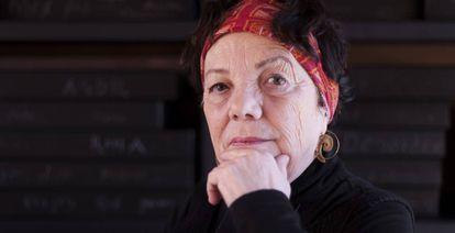Graciela Iturbide, en su estudio.