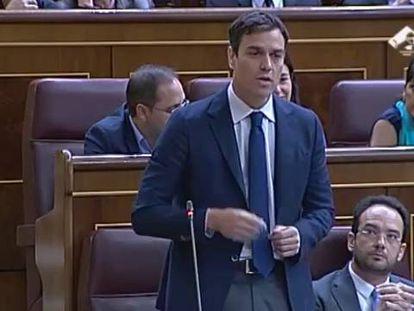 """Pedro Sánchez repite el """"miembros y miembras"""""""