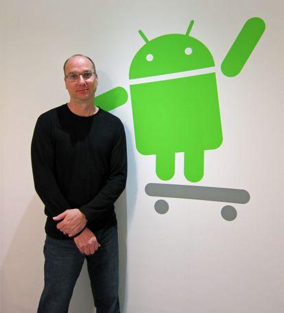Andy Rubin, jefe de desarrollo de Android.