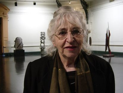 La pintora Gracia Barrios.