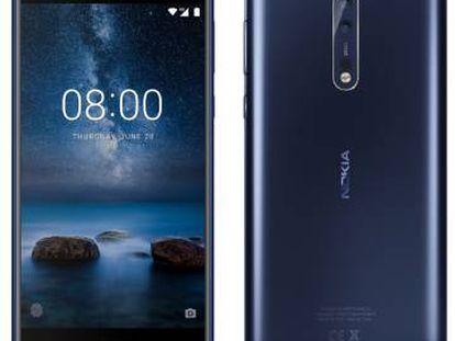 Primeras fotos del Nokia 8, que se dirige claramente al segmento 'premium' del mercado.