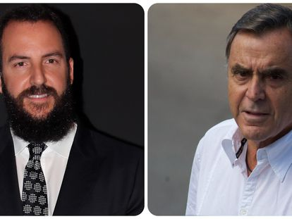 Borja Thyssen y su padre biológico, Manuel Segura.