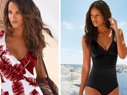 Dos de los bañadores de mujer que están entre los más vendidos de su categoría.