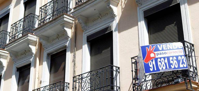 Vivienda en venta en Madrid, en una imagen de junio.