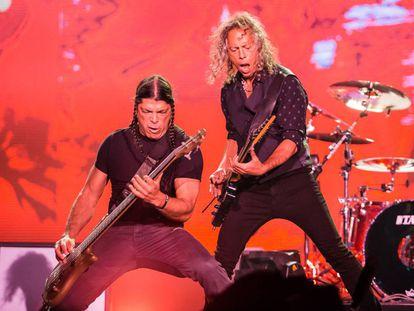 Metallica en el Lollapalooza de Brasil