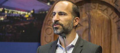 Dara Khosrowshahi, hasta ahora CEO de Expedia, tomará las riendas de Uber.