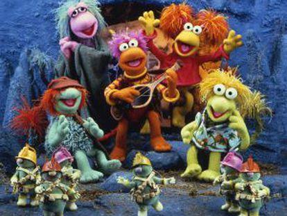 Los personajes de 'Fraggle Rock'.