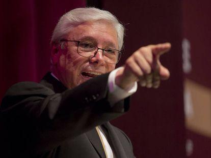 Jaime Bonilla, durante su toma de posesión