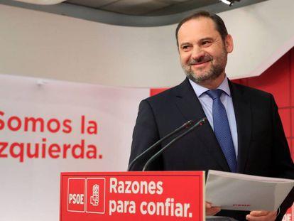 José Luis Ábalos, secretario de Oranización del PSOE.