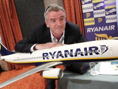 Michael O'Leary, presidente de la compañía aérea Ryanair