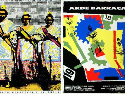 flyers de Barraca