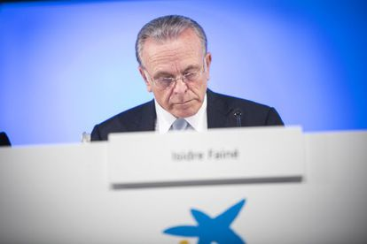 El presidente de Caixa Bank Isidre Faine.
