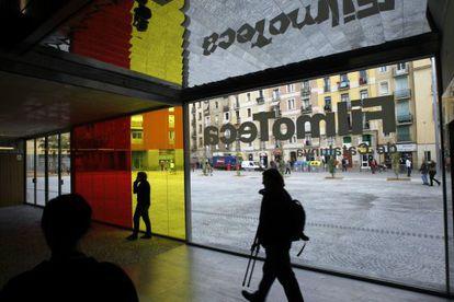 Fachada de la Filmoteca de Cataluña, que abrirá sus puertas este año en su nueva sede del Raval.