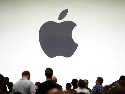 Una multitud durante la pasada conferencia de Apple en San José.