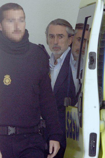Francisco Correa, jefe de la trama, en prisión desde febrero de 2009.