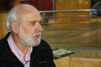 El politólogo belga Éric Toussaint, ayer en Pontevedra.