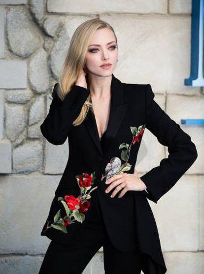 Amanda Seyfried, el lunes en el preestreno en Londres de 'Mamma Mia! Una y otra vez'