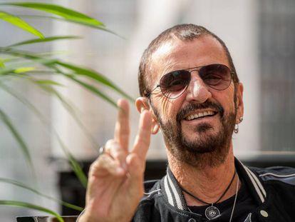 Ringo Starr en la promoción de 'Give More Love' en 2017.