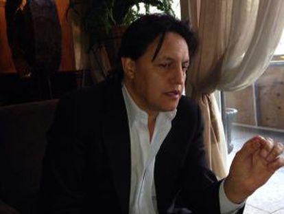 Fernando Villavicencio durante su visita a Washington.
